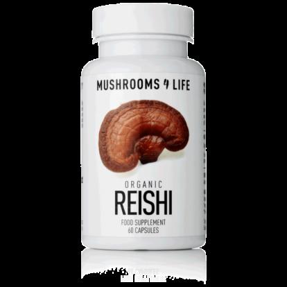 Reishi (Ganoderma Lucidum) Mushroom Capsules | Mushrooms4life
