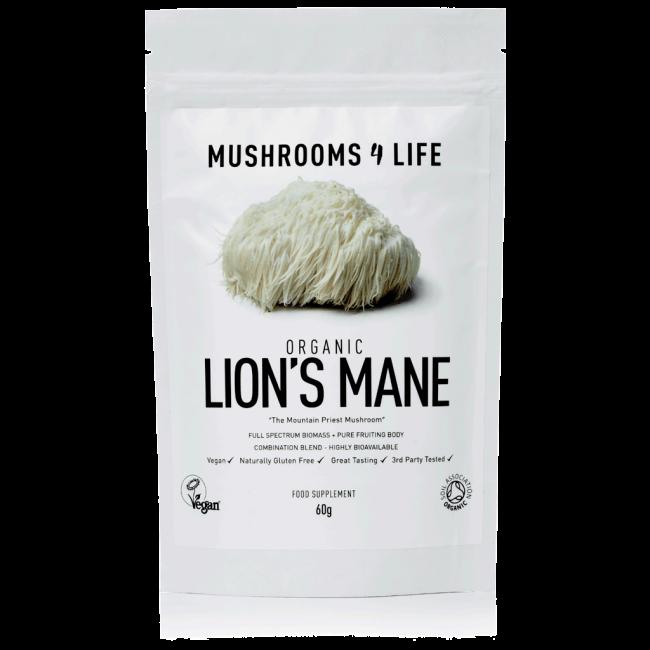 Lion's Mane Hericium erinaceus Powder | Mushrooms4life