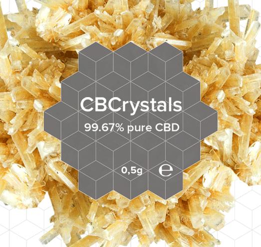 CBD 99.6 % Crystal Natural | 0,5 Grams | CBDirective