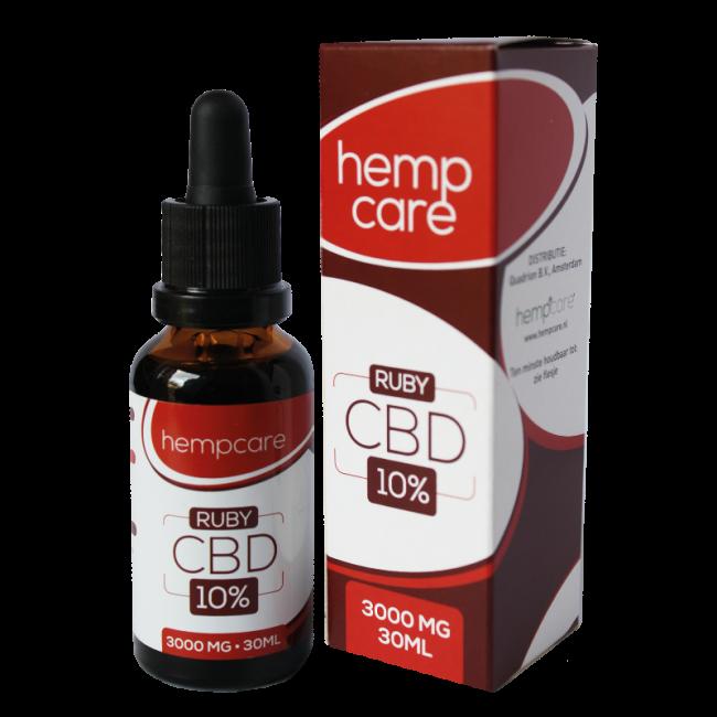 CBD Hemp oil 10% | HempCare RUBY