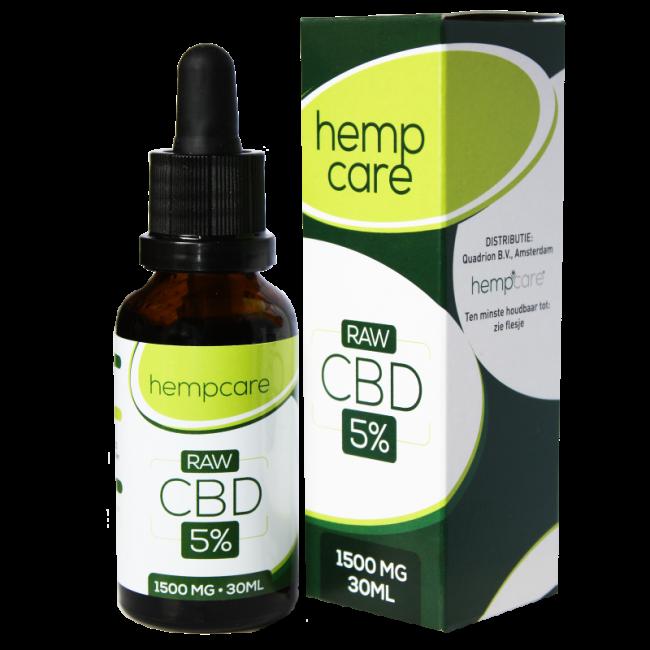 CBD Hemp oil 5% | HempCare RAW