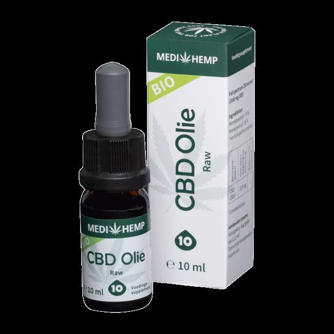 CBD Oil 10% | Medihemp RAW Organic