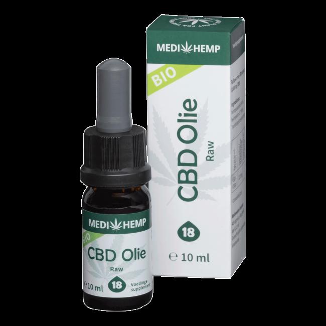CBD Oil 18% | Medihemp Raw Organic