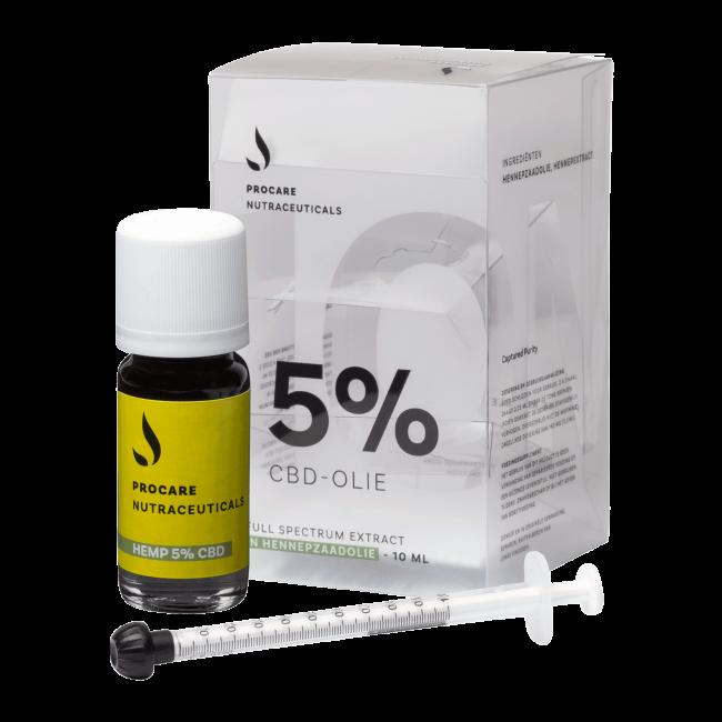 CBD Oil 5% | Procare Nutraceuticals