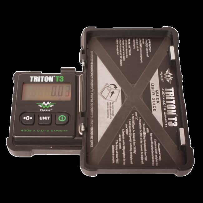 Triton T3 - 400 x 0.01 High Precision Digital Scale